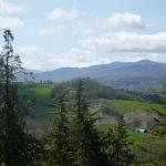 Vista dell'Appennino da Serramazzoni