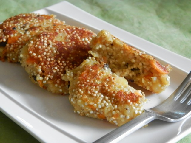 Crocchette di quinoa alle olive taggiasche