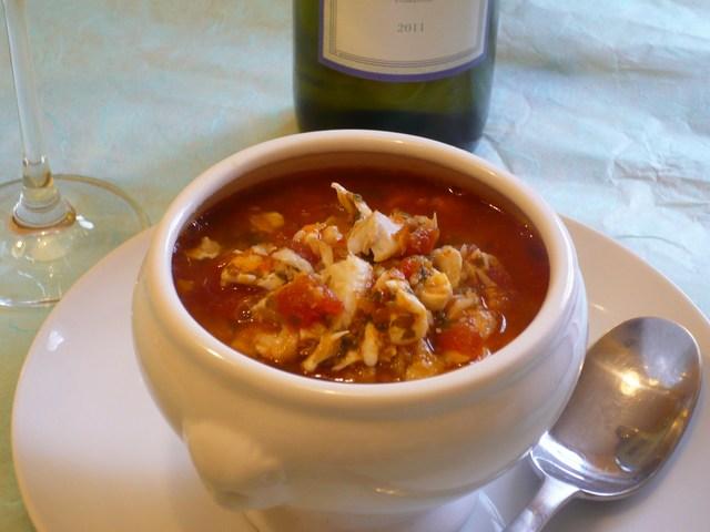 Ciuppin – zuppa ligure di pesce