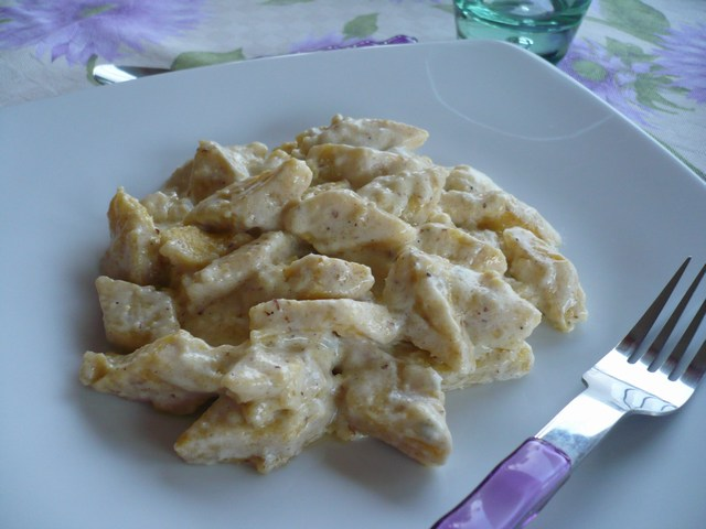 Gnocchi di polenta di Storo con salsa al gorgonzola