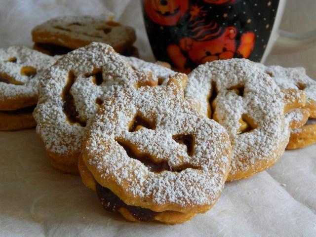 Biscotti alla zucca di Jack-O'