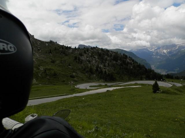 Tutte curve su due ruote tra le Dolomiti