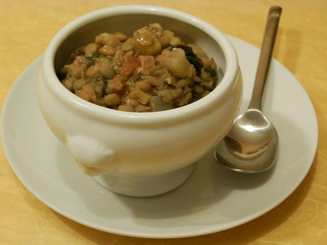 Zuppa di lenticchie alla sarda