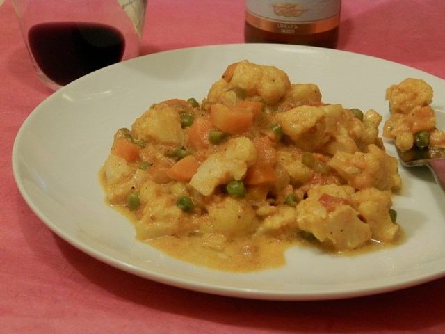 Curry di verdura
