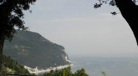 La costa marchigiana e il Monte Conero
