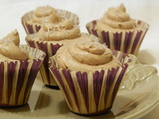 Cupcakes con frosting al mascarpone e caffè