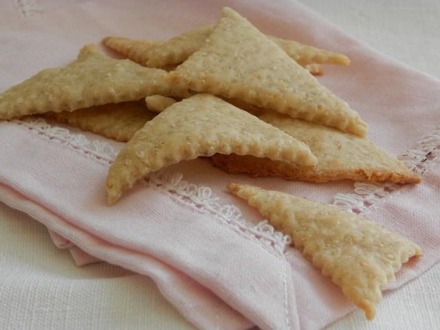 Cracker con quinoa
