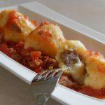 Gnocchi ripieni alla salsiccia e mozzarella