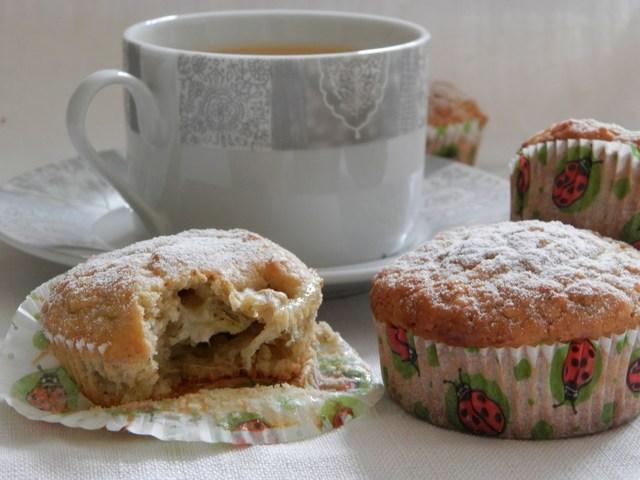 Muffin banane e zenzero