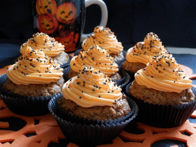 Muffin alla zucca e nocciole
