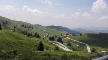 Curve e tornanti del Montegrappa