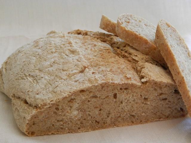 Pane integrale alla crusca