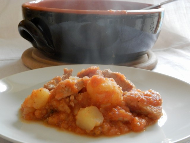 Spezzatino con patate alla piemontese