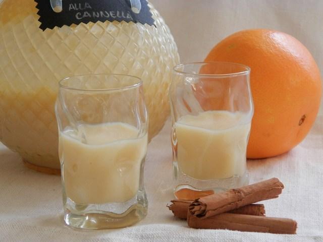 Crema di arancello alla cannella