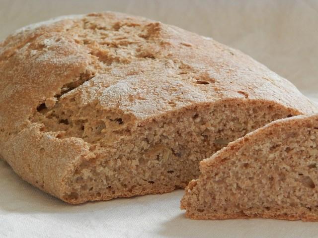 Pane integrale con semi di zucca