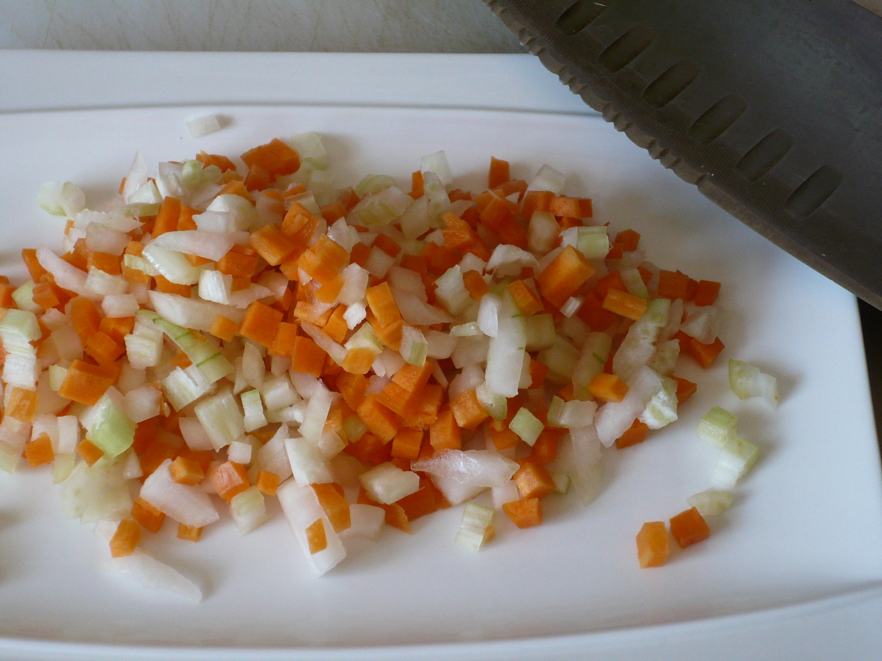 Brunoise di verdure