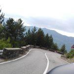 Strada verso il Passo del Muraglione