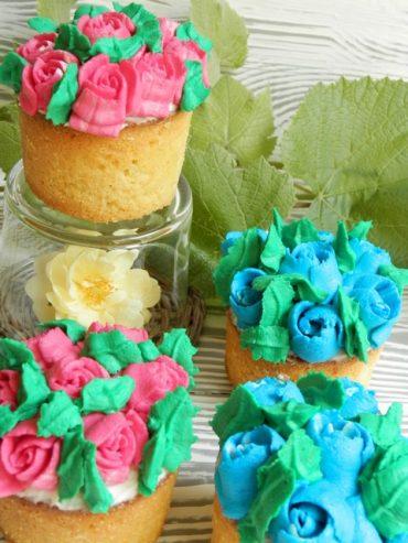 Cupcakes ricetta base con video decorazione