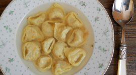 Tortellini in brodo vegetariani