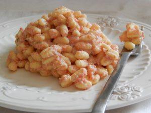 Ricetta Gnocchi Con Ricotta Salata.Gnocchetti Sardi Al Pomodoro E Ricotta Viaggiandoincucina