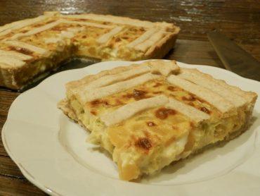 Torta salata semintegrale con zucca