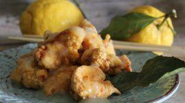 Pollo fritto al limone