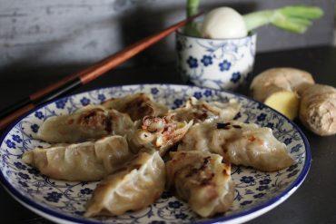Ravioli cinesi alla griglia