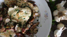 Scaloppina di pollo ai funghi