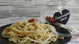 Spaghettini all'acciugata