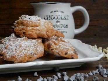 Biscotti ai frutti di bosco e doppio cioccolato