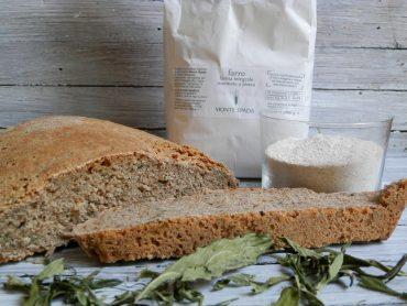 Pane al farro di Monte Spada e canapa