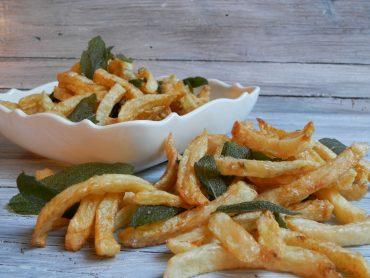 Patatine fritte alla salvia