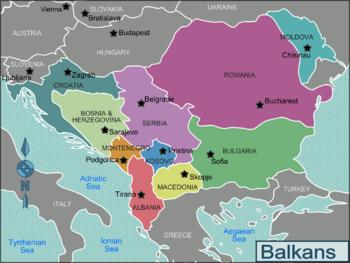 Informazioni di viaggio per motociclisti: i Balcani