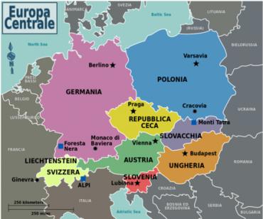 Informazioni di viaggio per motociclisti: Europa Centrale
