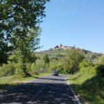 Vista del borgo di Montemerano