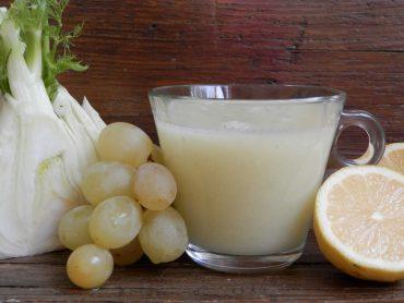 Estratto di uva bianca finocchio e limone