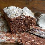 Plumcake della colazione al cacao e fiocchi d'avena
