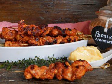 Spiedini di pollo speziati alla griglia