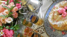 Tè marocchino di benvenuto