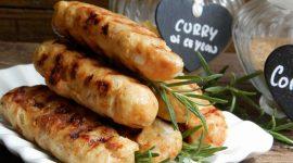 Polpette grigliate di pollo thai