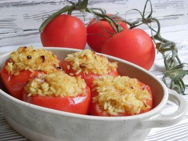 Pomodori ripieni all'orientale