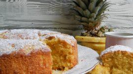 Ciambella ananas fresco e cocco