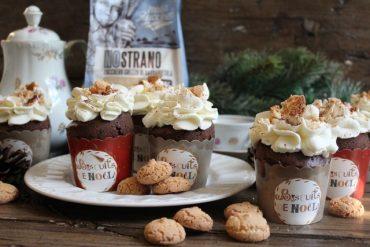 Muffin moka e cacao agli amaretti