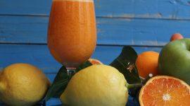 Estratto arancia carota mela
