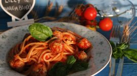 Spaghetti alle polpette di Lilly e Vagabondo