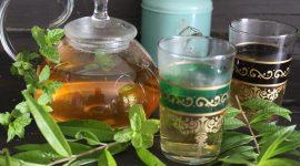 Tè verde alla menta ed erba Luisa