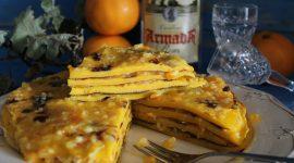 Laciada – frittata dolce con confettura e rum