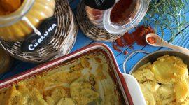 Patate gauranga – patate al forno dorate con spezie