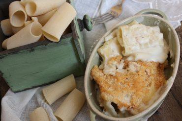 Paccheri al forno al doppio formaggio