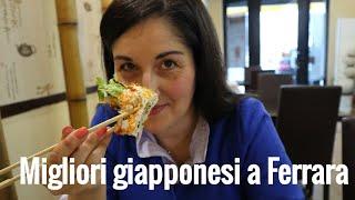Top 4 ristoranti giapponesi a Ferrrara – video